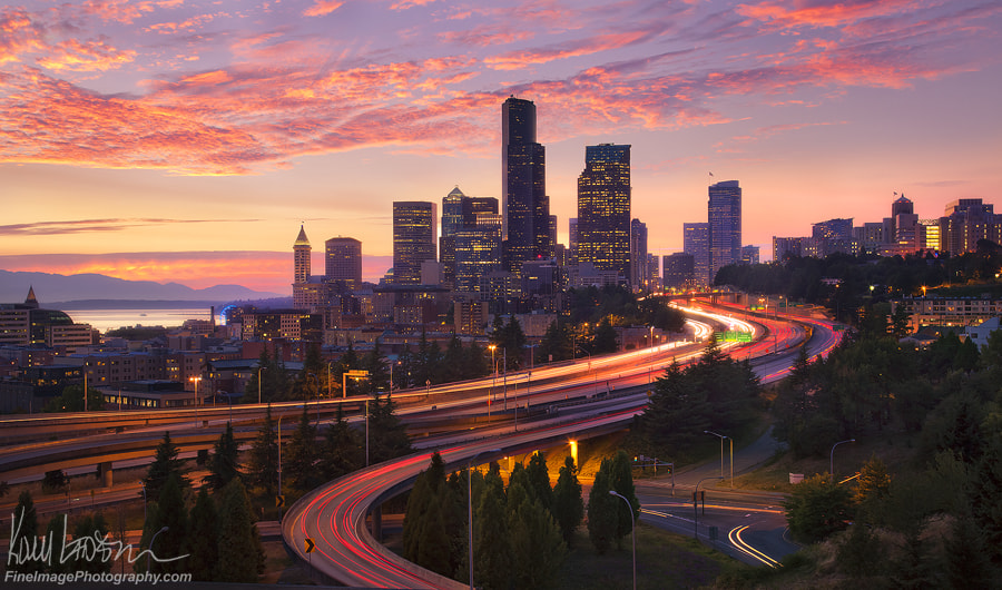Photograph Seattle Sunset by Kory Lidstrom on 500px