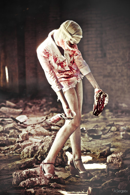 Photograph  Nurse from the Silent Hill by Alexandr Sergeev on 500px