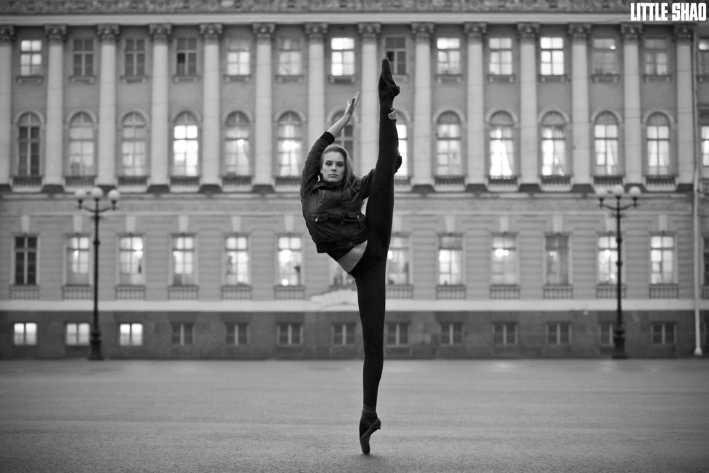 Photograph Russian Ballerina Hit The Sky by Little Shao on 500px