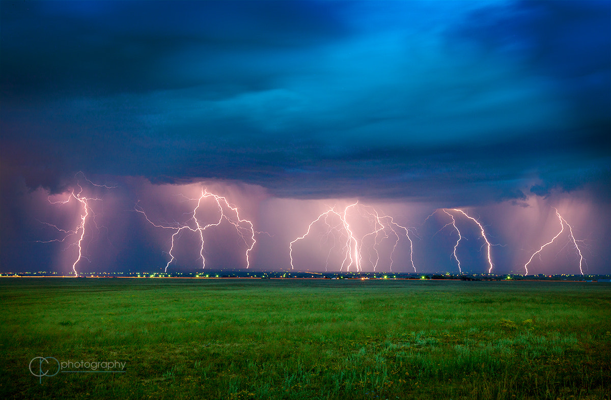 Photograph Electrical Storm by Colleen Pinski on 500px