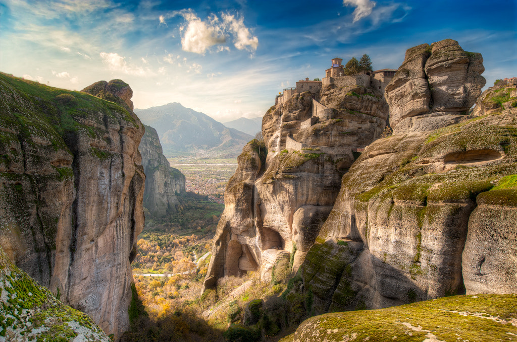 Photograph Meteora - High Up Above by Elia Locardi on 500px