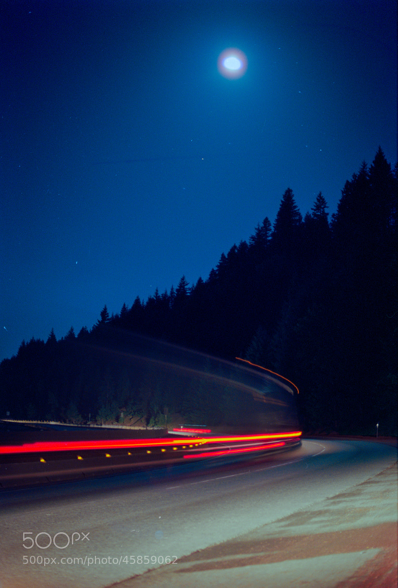 Photograph Highway Moon. by Fayaz Q on 500px
