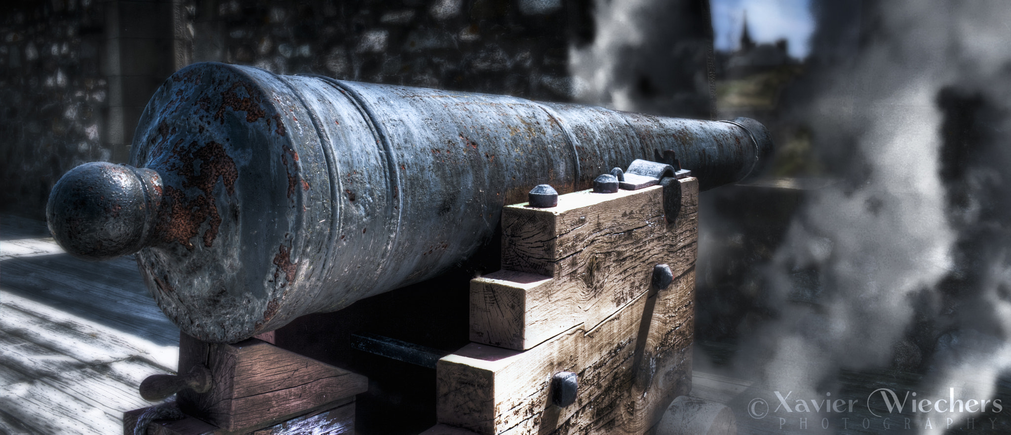 Photograph Louisbourg Cannon by Xavier Wiechers on 500px