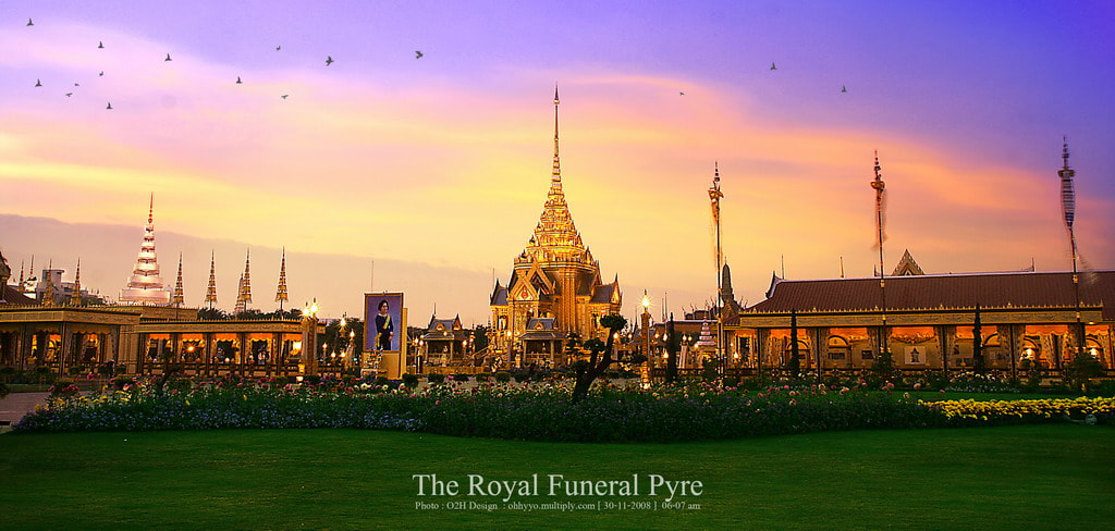 Photograph the royal funeral pyre by panupong mongkootkharn on 500px
