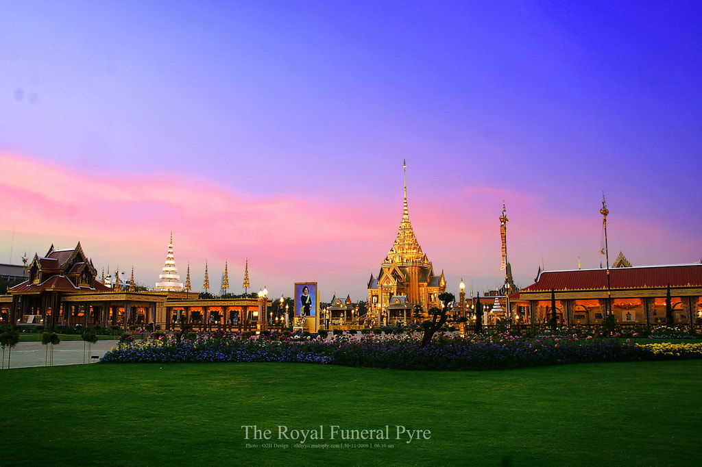 Photograph the royal funeral pyre-3 by panupong mongkootkharn on 500px