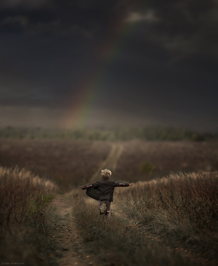following the rainbow by Elena Shumilova on 500px.com