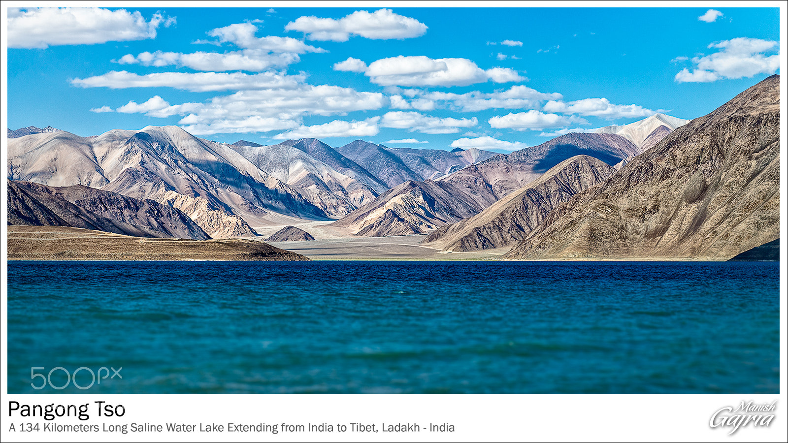 Photograph Pangong Tso by Manish Gajria on 500px