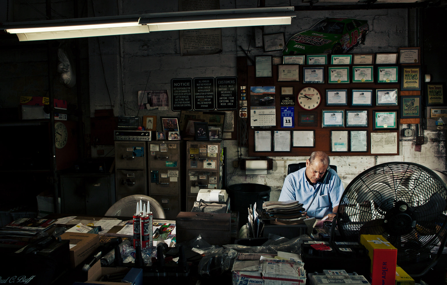 Photograph Nelson at Shorty & Fred's Garage by Mary Beth Koeth on 500px