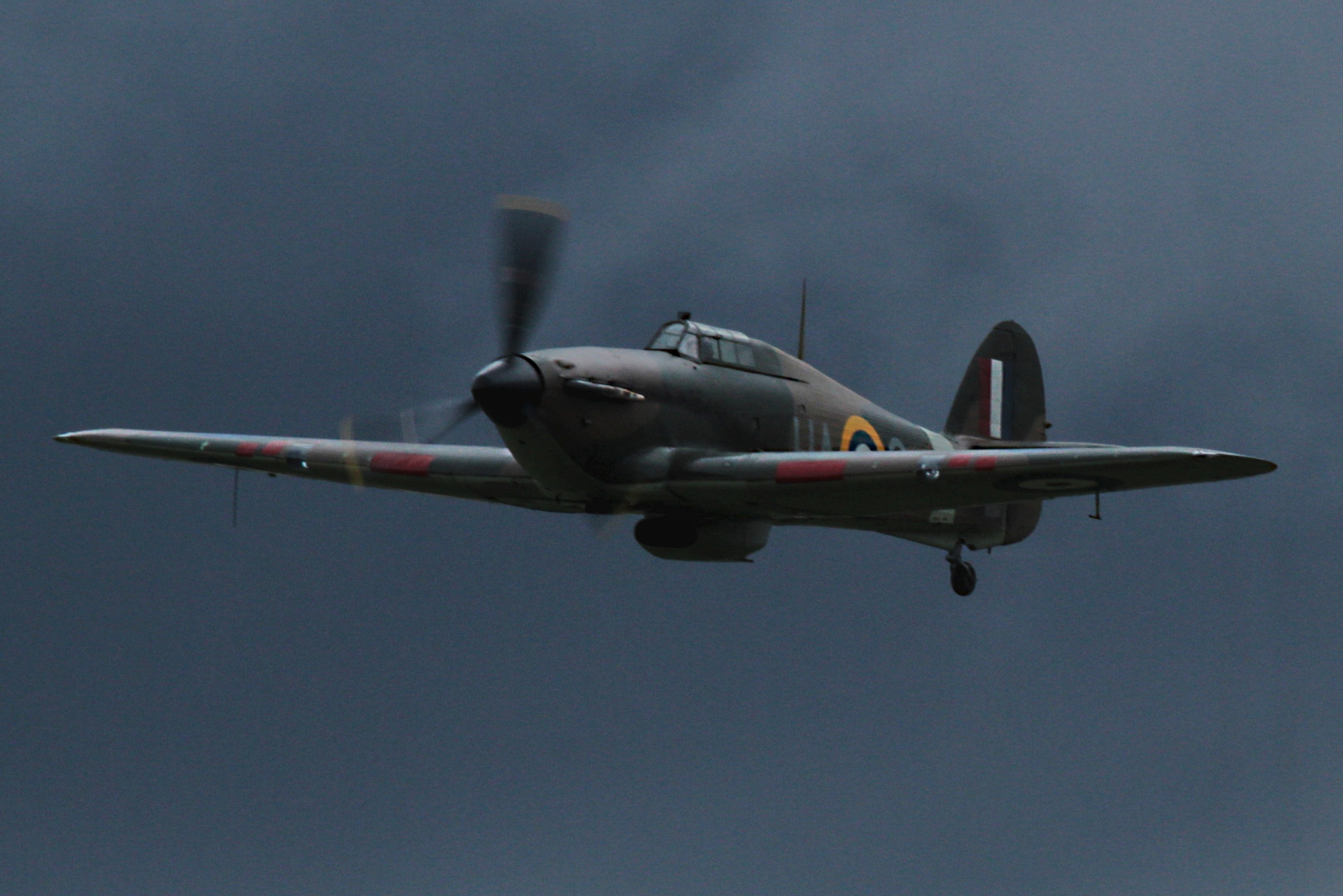 Photograph Hawker Hurricane MKXII.    Before the Storm by Ian Porter on 500px