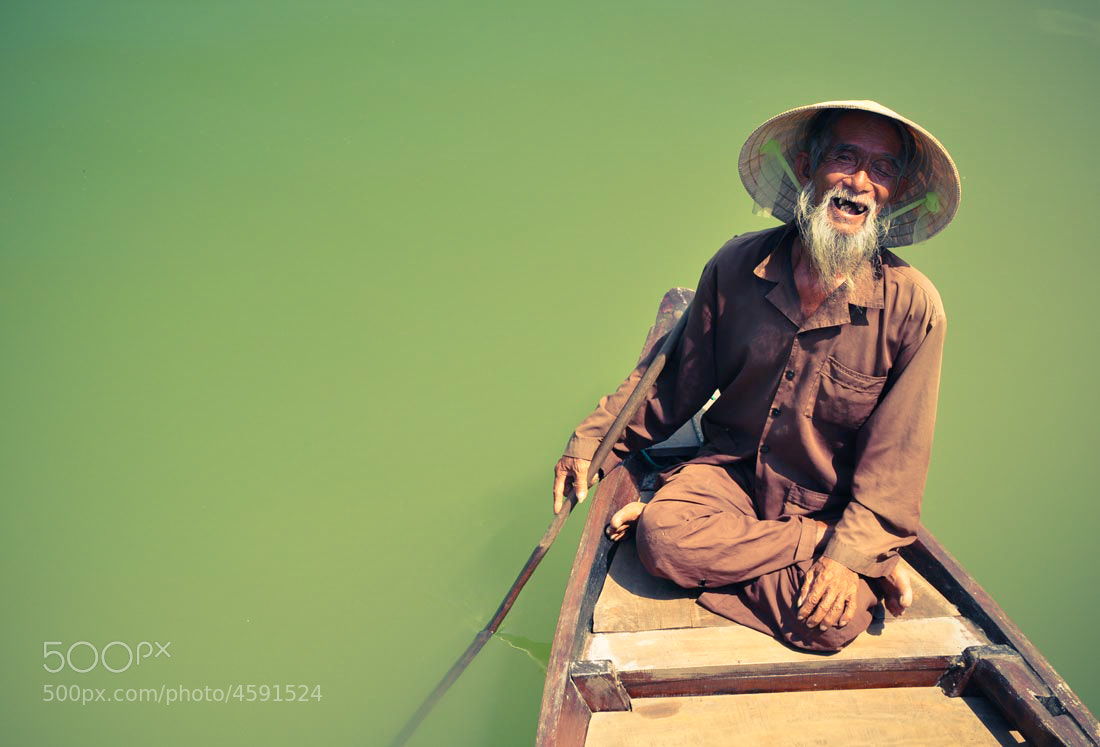 Photograph Vietnamese Fisherman by Tom Sanderson on 500px