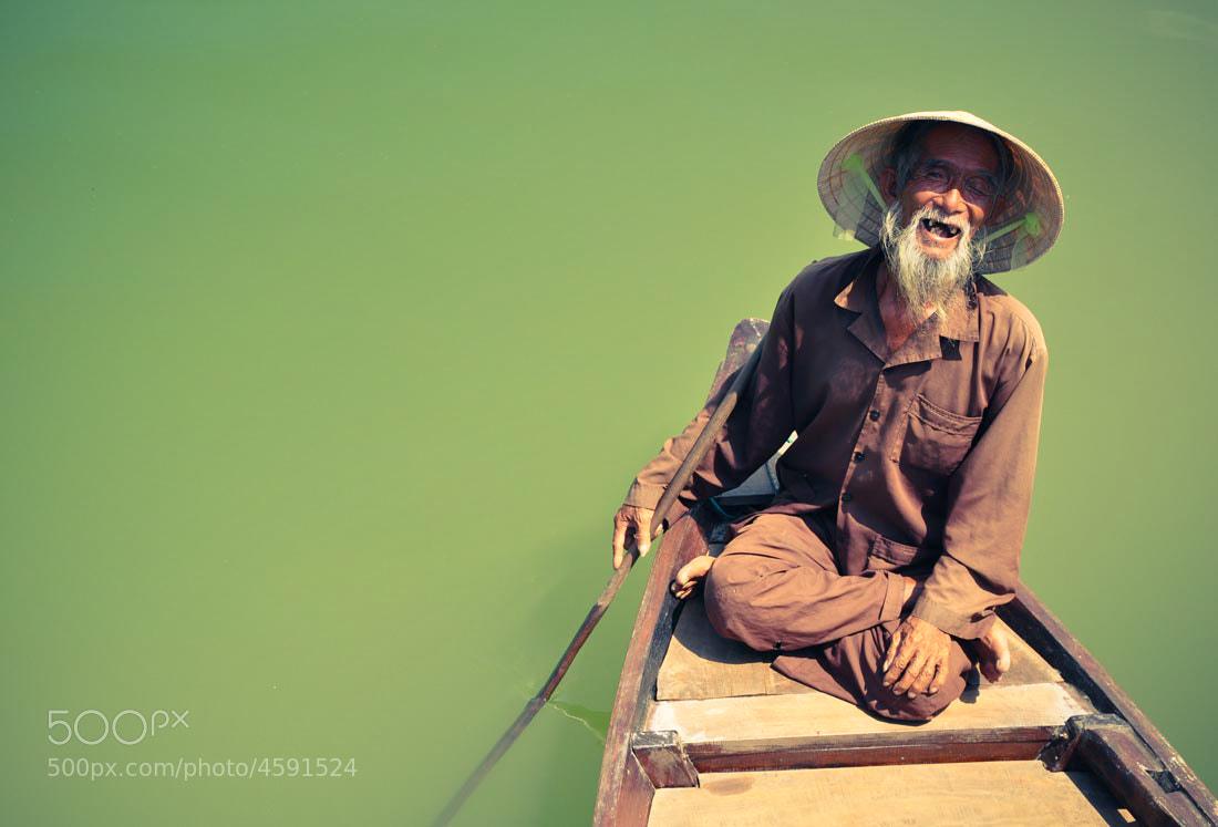 Photograph Vietnamese Fisherman by Tom Sanderson on 500px
