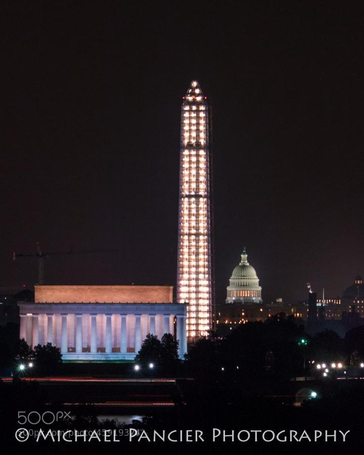 View from Arlington - Washington, DC - Summer 2013