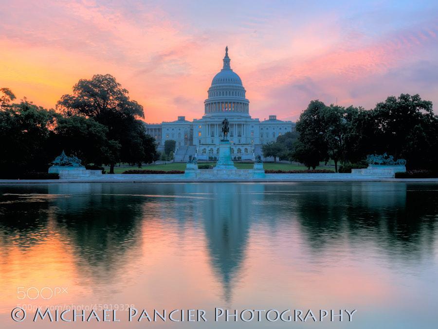 United States Capital at Sunrise - Washington, DC - Summer 2013
