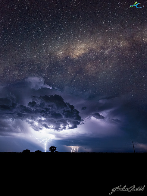 Photograph - Milky Way over the Storms - by Jordan  Cantelo on 500px