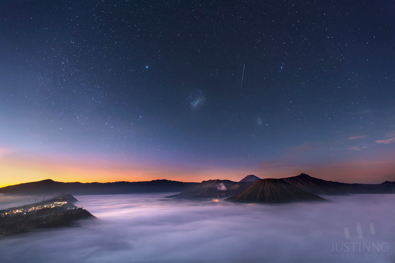 Photograph Magellanic Clouds by Justin Ng on 500px