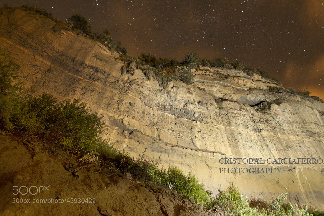 Photograph Stars and mountain by Cristobal Garciaferro Rubio on 500px