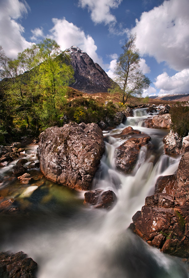 Photograph Etive Cascade by Stephen Emerson on 500px
