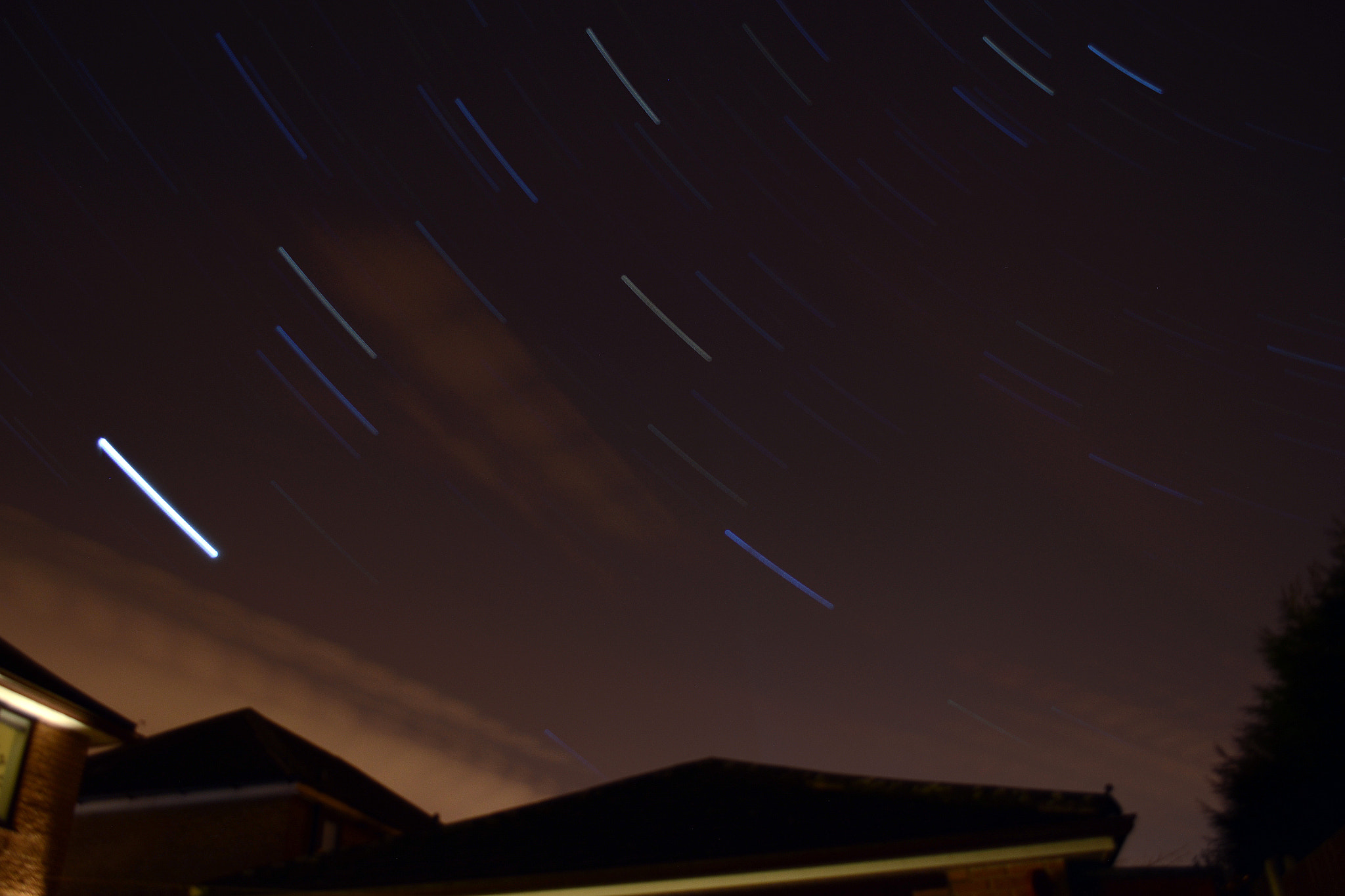 Photograph Star trail by Richard Whittle on 500px