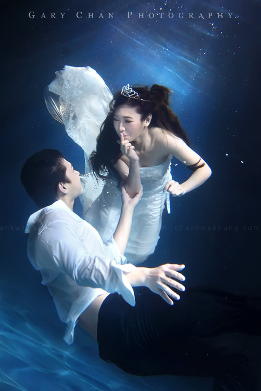 Photograph Underwater bride by Gary Chan on 500px