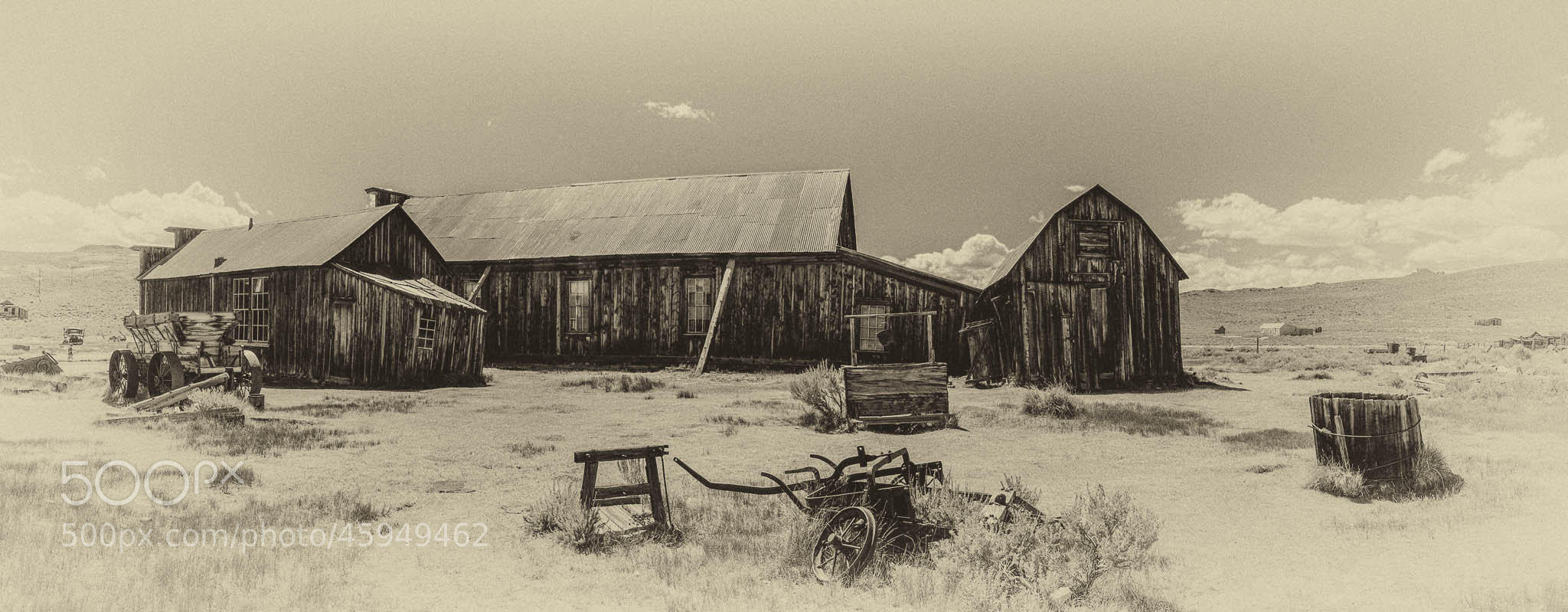 Photograph Old Barn in Bodie, CA by Jeremy Schoen on 500px