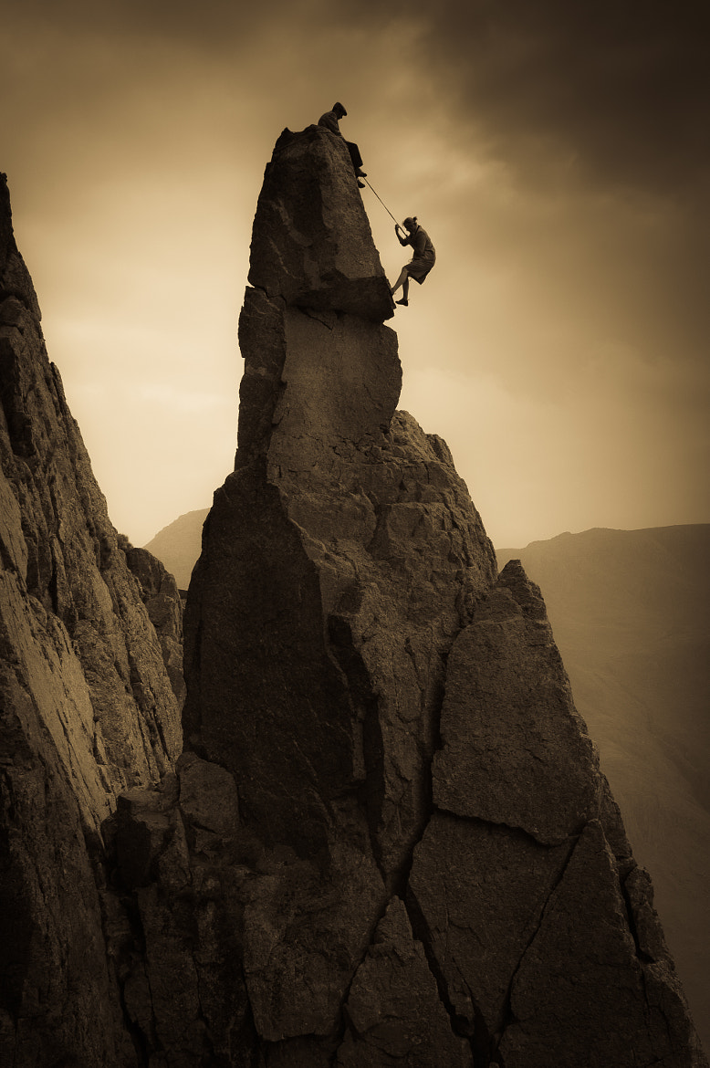Photograph Napes Needle by Dave Willis on 500px