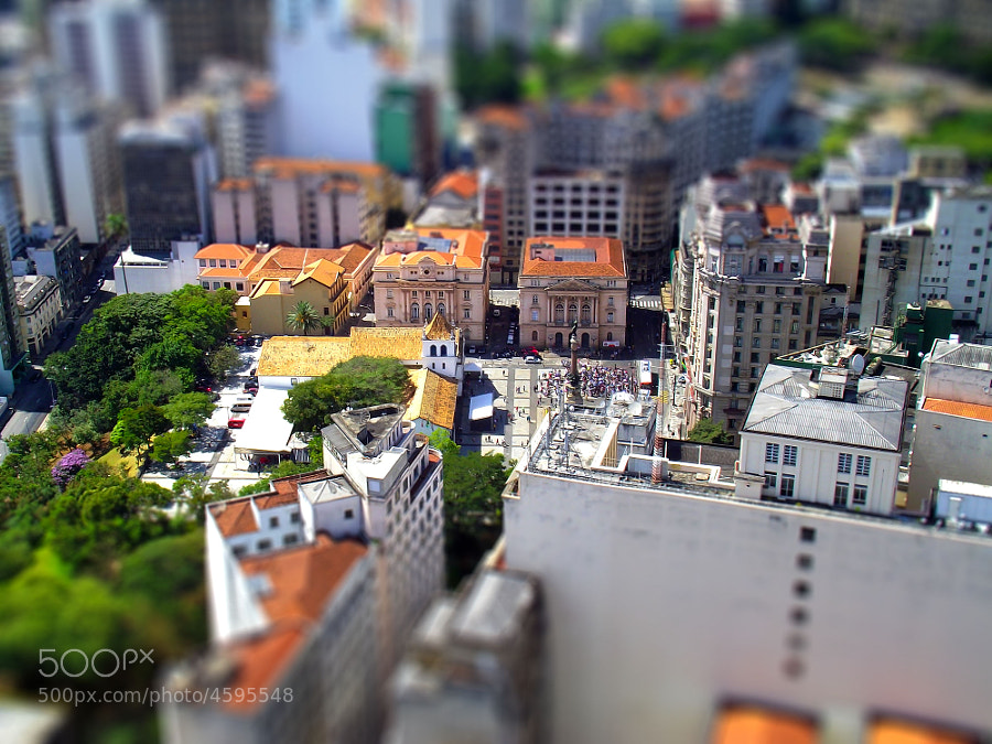 Photograph São Paulo - Tilt-shift by Robson Ortlibas on 500px