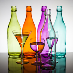 Bottles & Glasses by François Dorothé (francoisdorothe)) on 500px.com