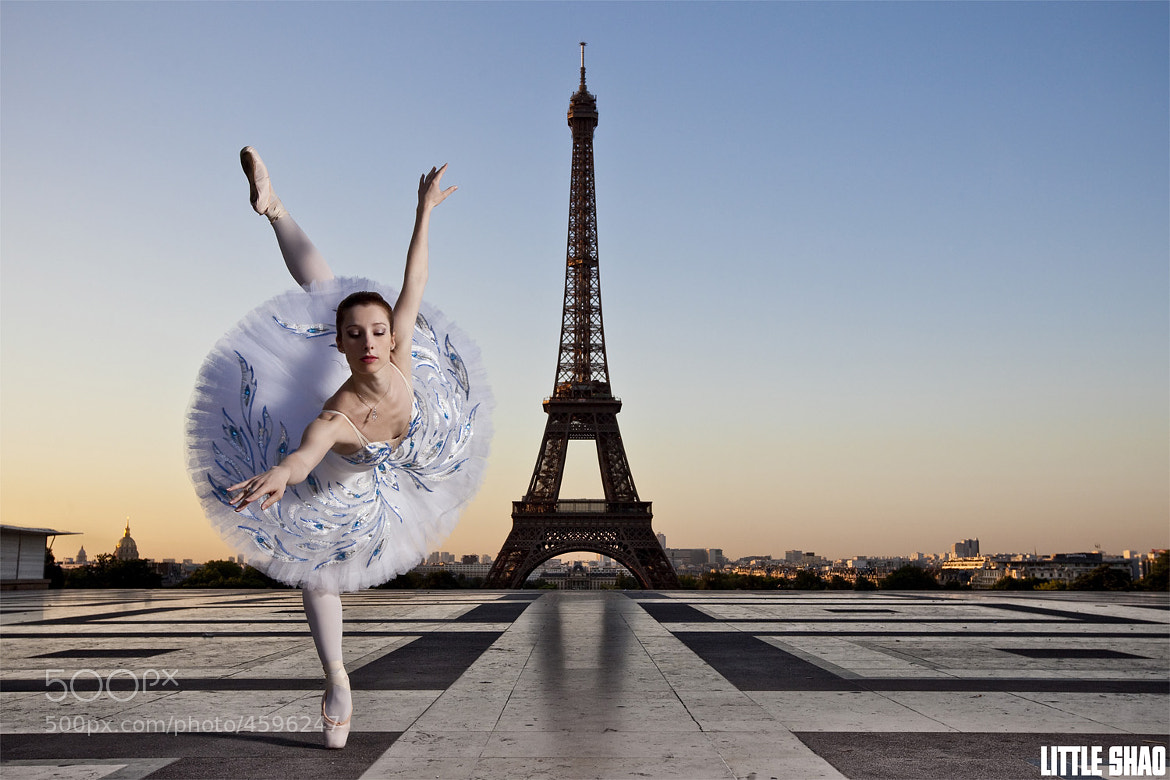 Photograph Ballerina Vs Eiffel Tower by Little Shao on 500px