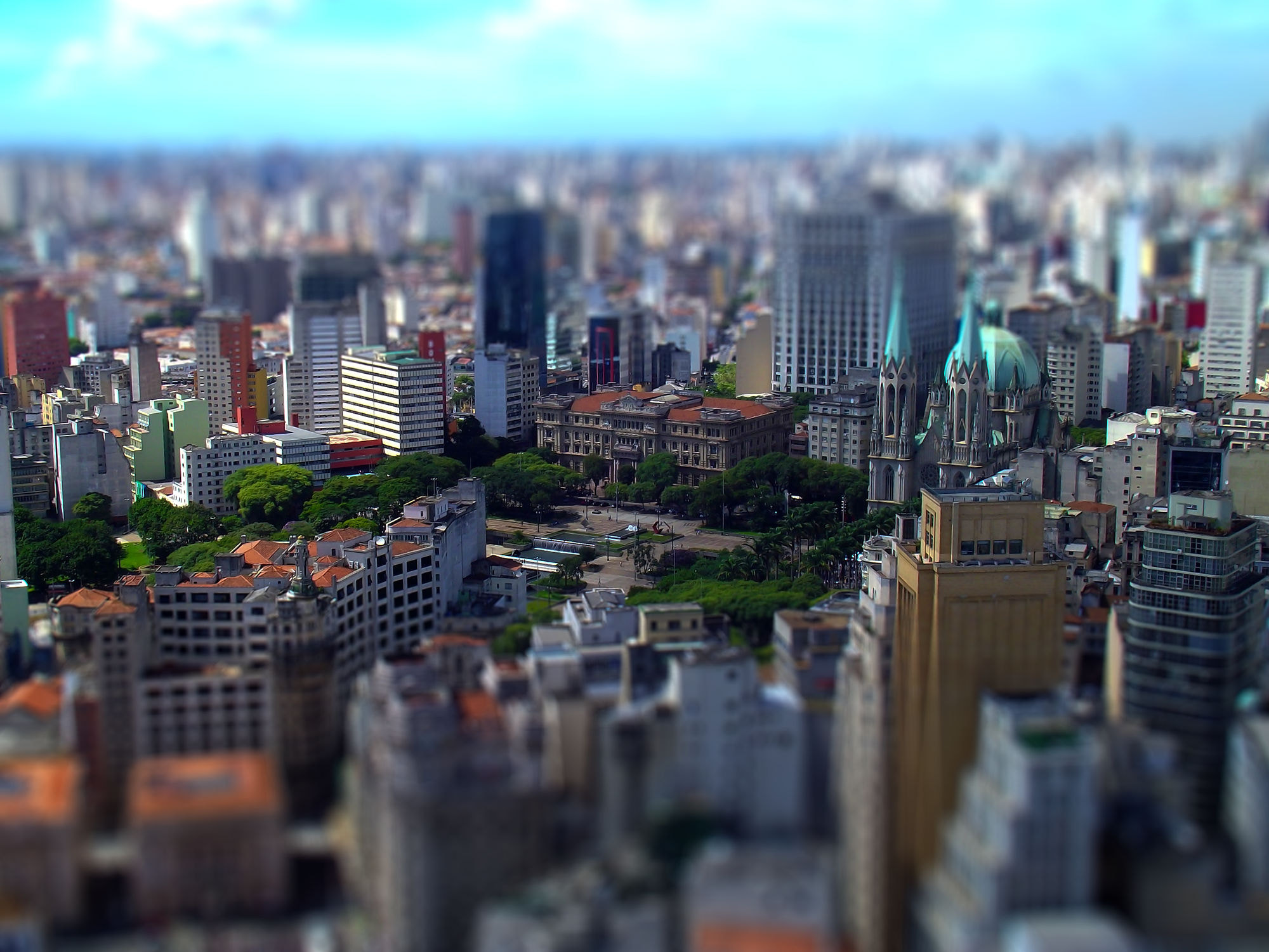 Photograph Tilt shift by Robson Ortlibas on 500px