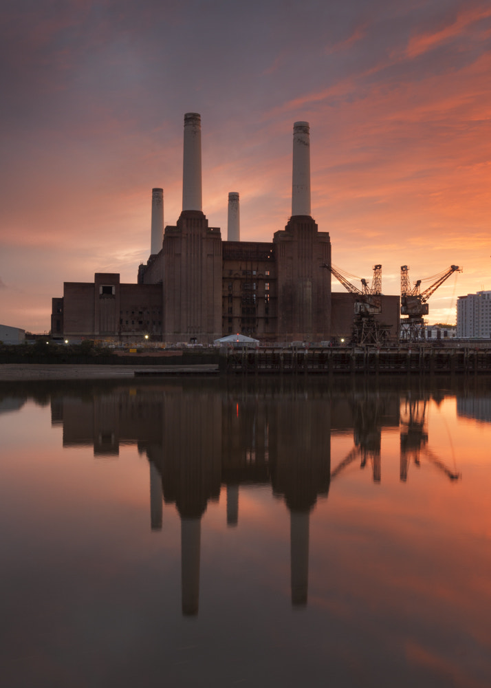 Photograph Battersea power by Terry Gibbins on 500px