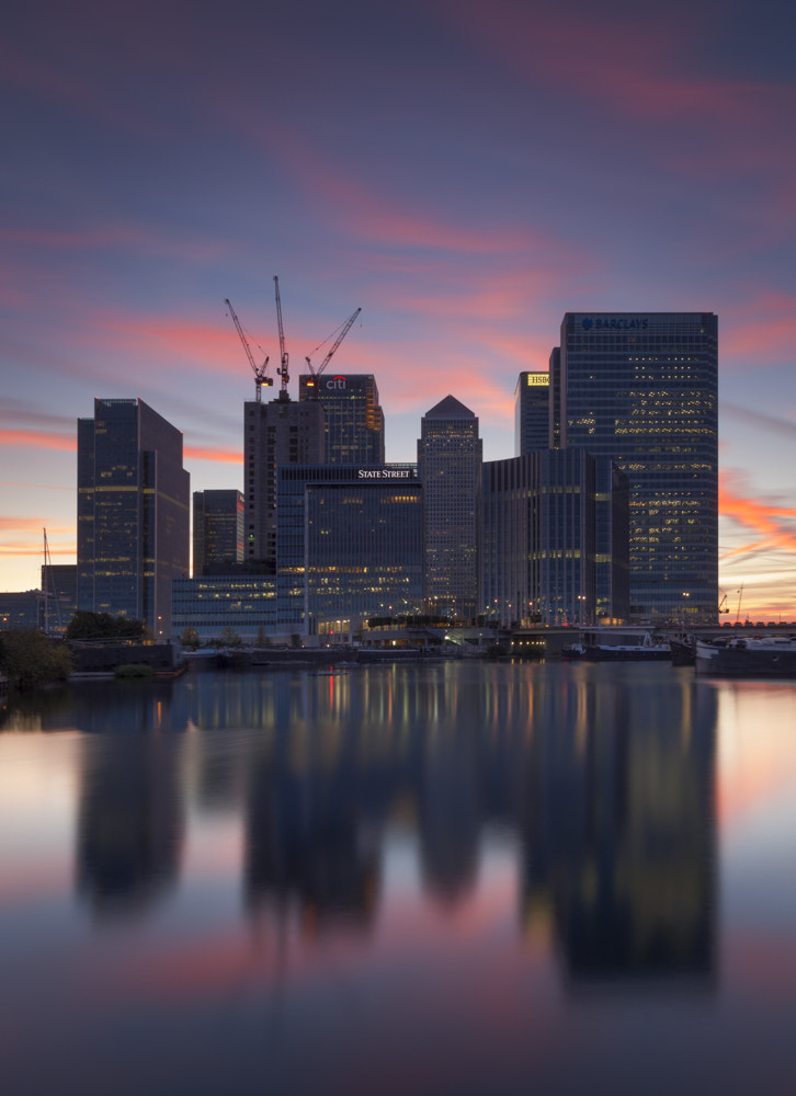 Photograph canary wharf by Terry Gibbins on 500px