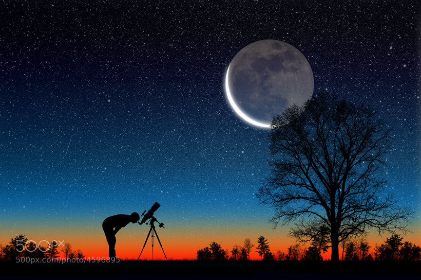 Photograph Earthshine Deluxe by Larry Landolfi on 500px