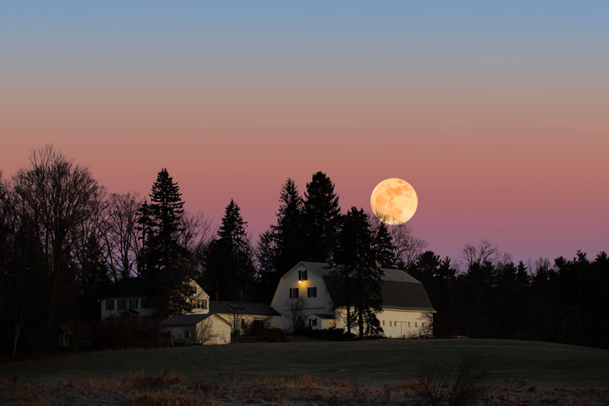 Photograph Full Moon Rise by Larry Landolfi on 500px