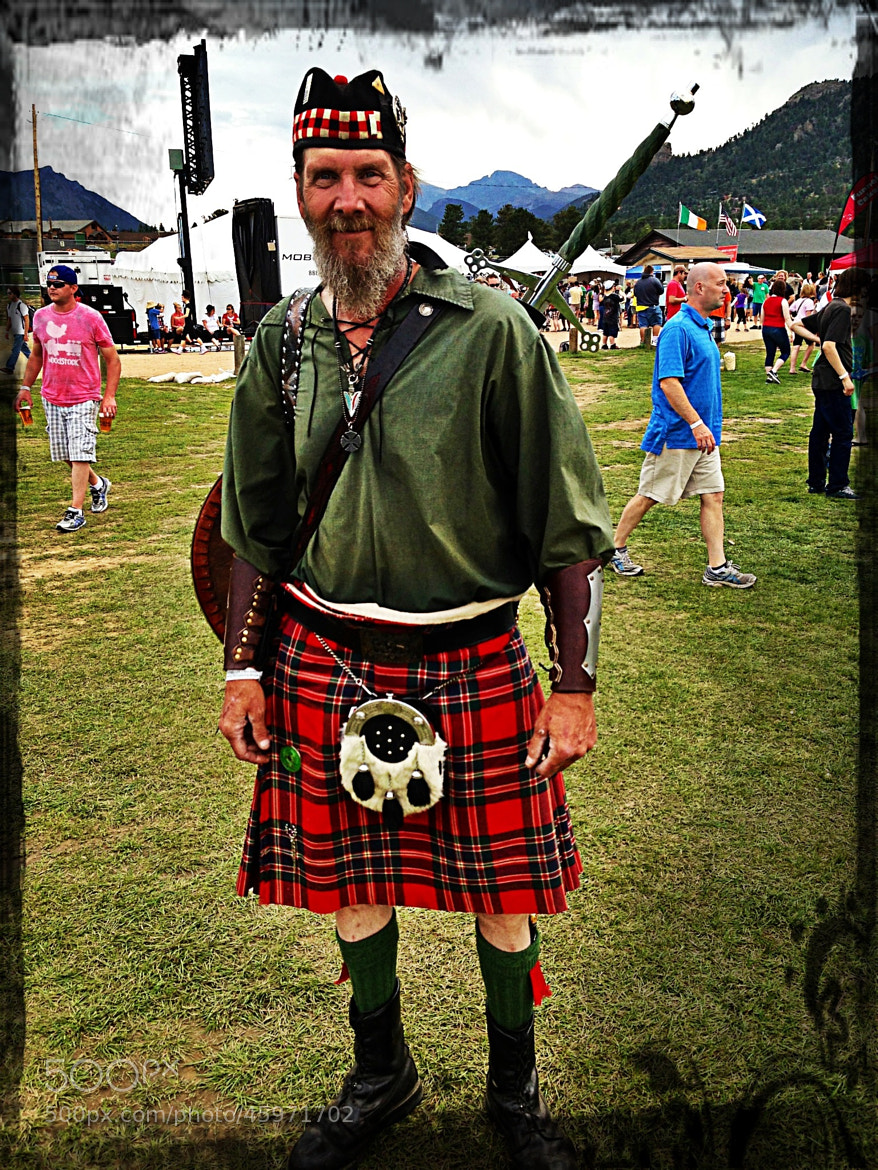 Photograph Highlander with Sword by James Herzog on 500px