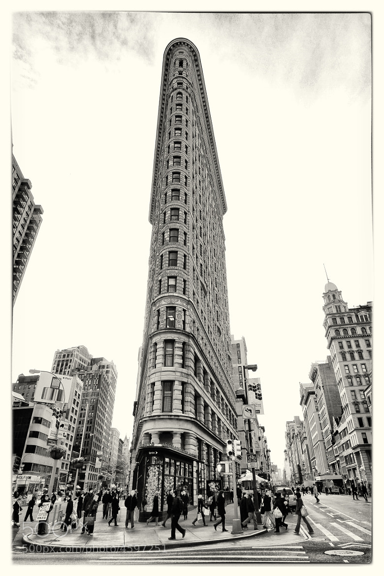 Photograph The Flatiron by Alchimie Photographique on 500px