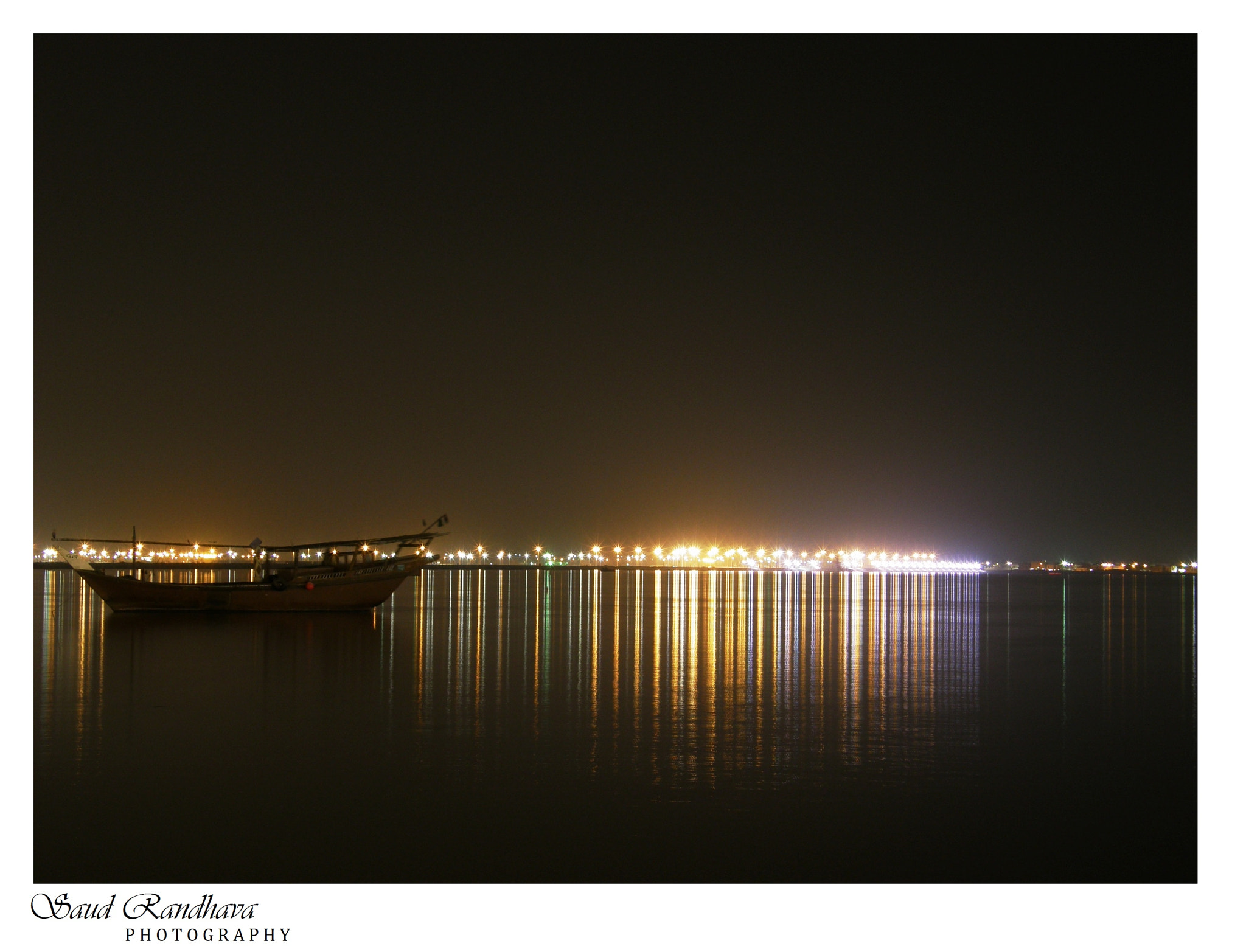 Photograph CITY LIGHTS & Reflecting view AT QATIF, KSA by Saud Ashraf on 500px