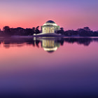 ������, ������: Jefferson Memorial At Sunrise
