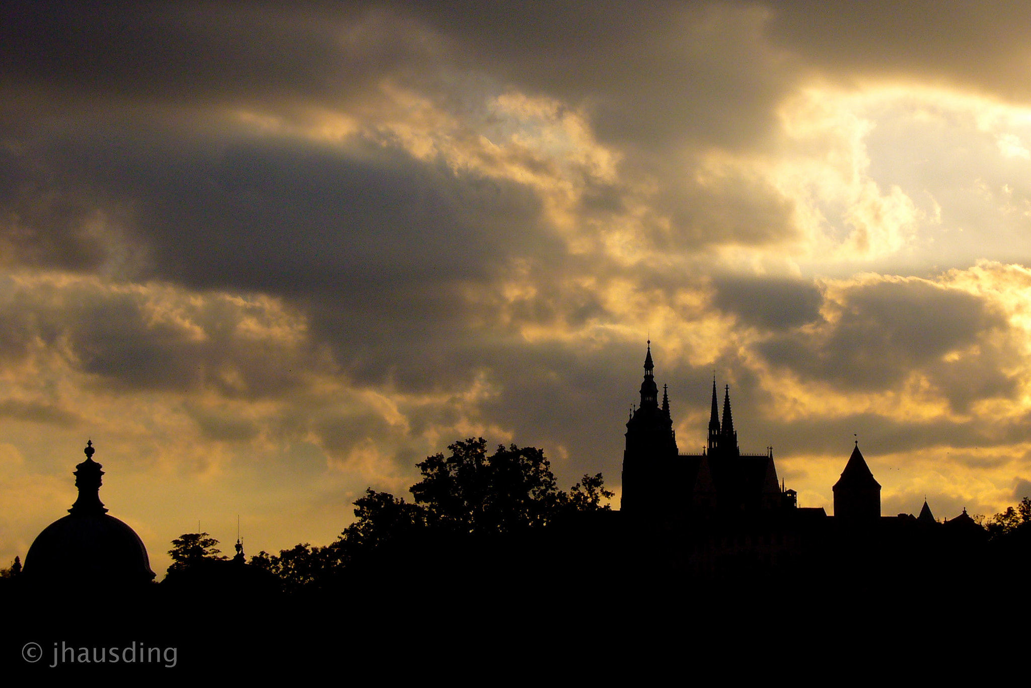 Photograph Prague silhouette by Jan Hausding on 500px