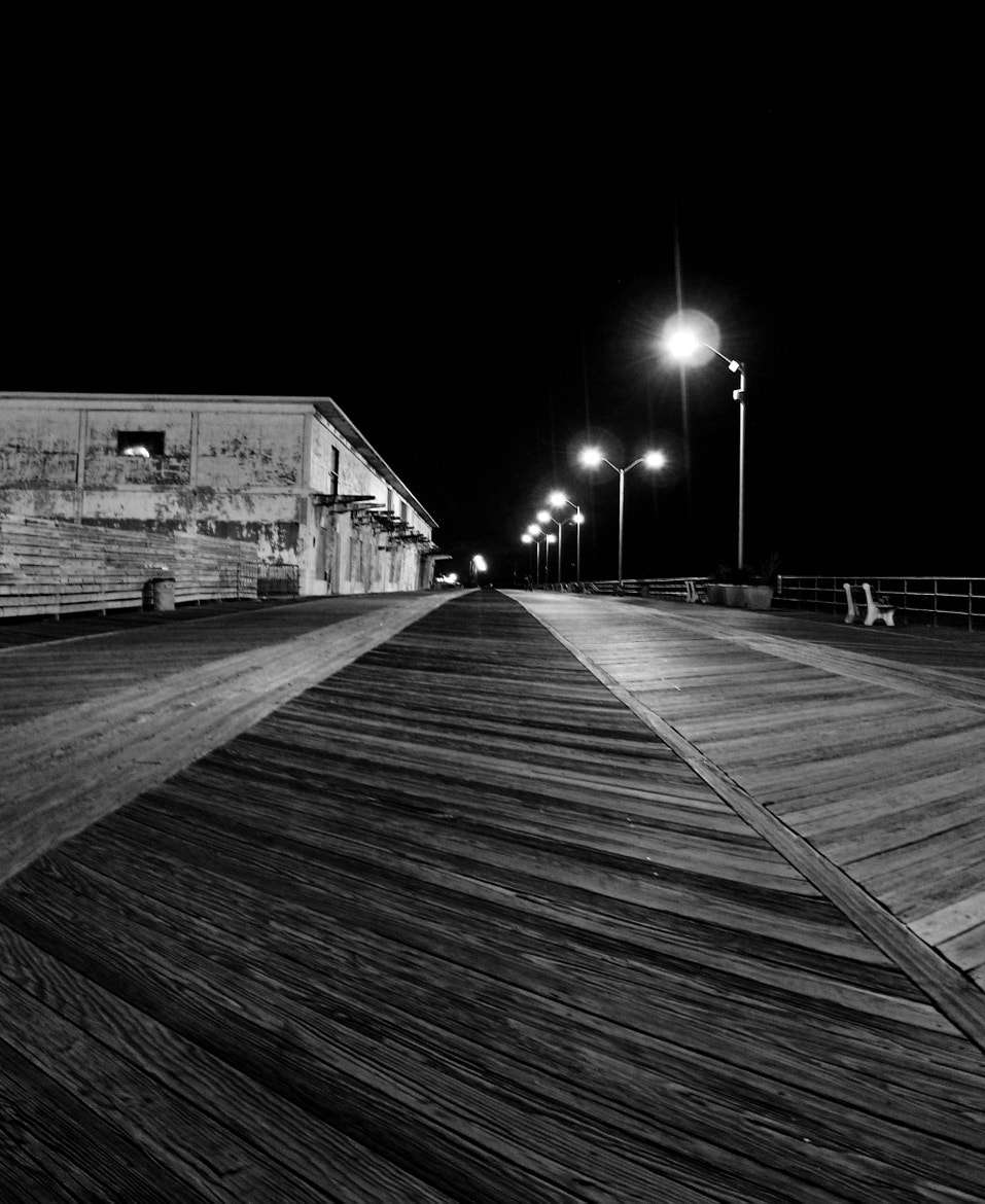 Photograph Evening On An Empty Board Walk by Catskills Photography  on 500px