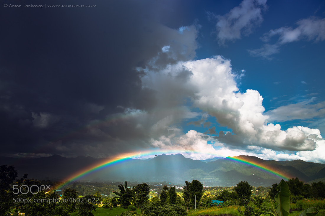 Photograph Rainbow (Pai, Thailand) by Anton Jankovoy on 500px