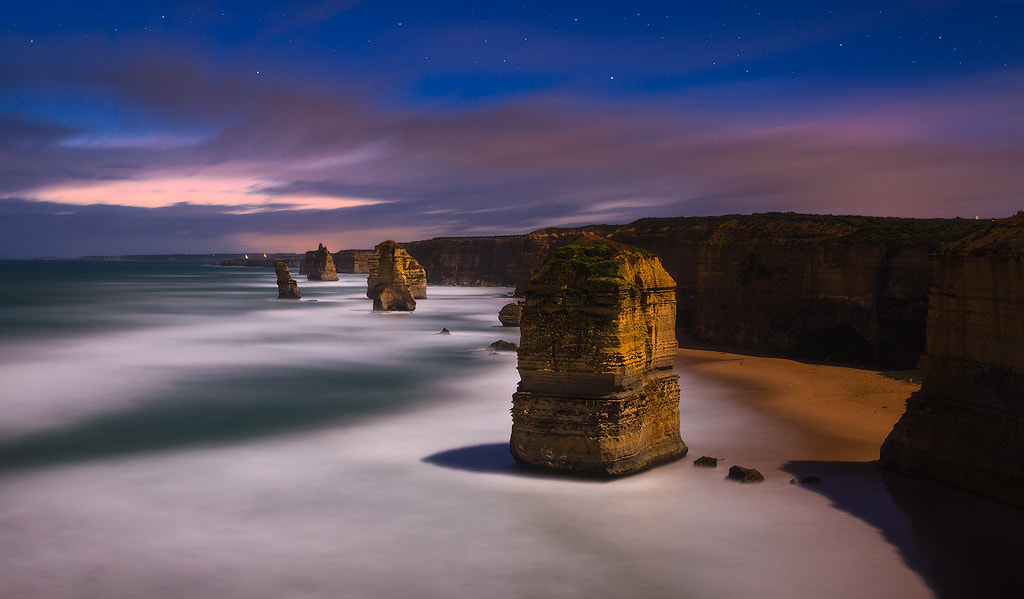 Photograph Moonlit Monoliths by Dylan Gehlken on 500px
