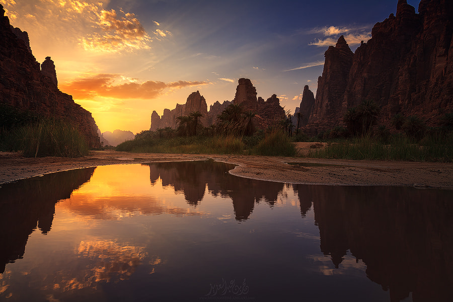 Photograph The reflection of light by Mohammed  Bin Abdulaziz on 500px