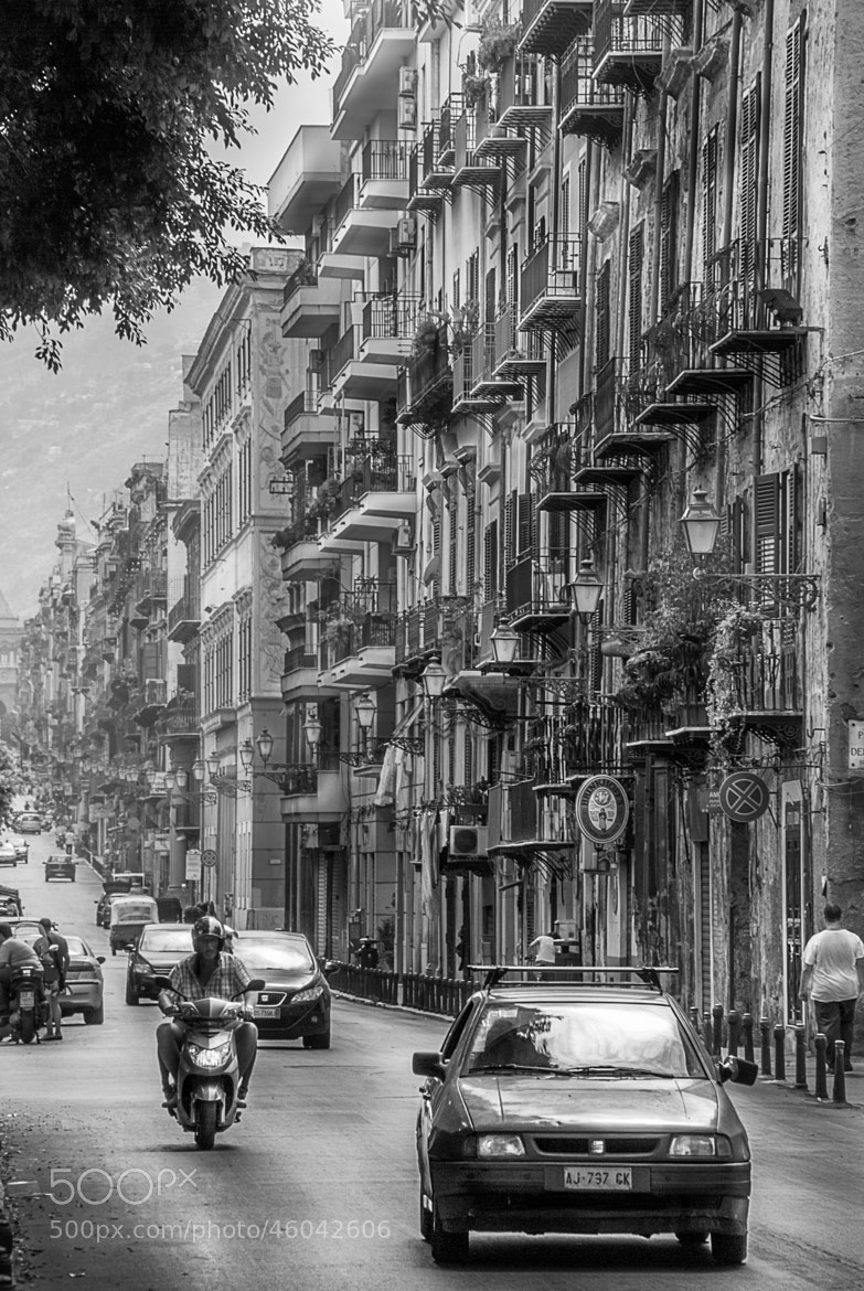 Photograph Colorless Palermo by Aku Pöllänen on 500px