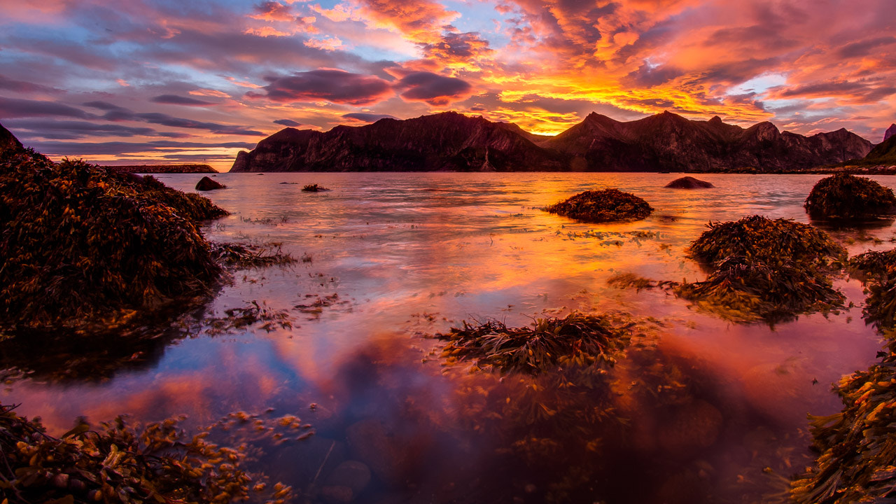 Photograph Sunrise of Norway by Rune Overas on 500px
