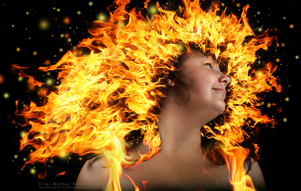 Photograph Josi on Fire by Elias Näther on 500px