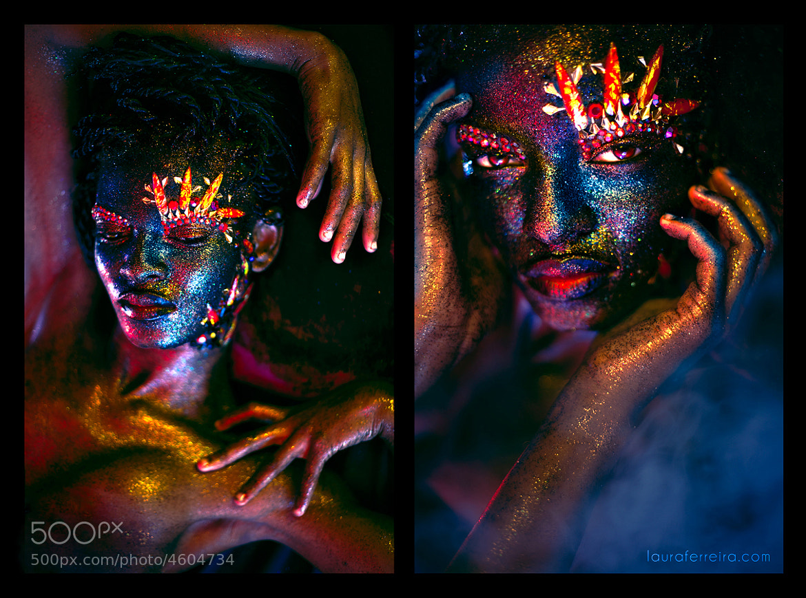Photograph Oil and Glitter by Laura Ferreira on 500px
