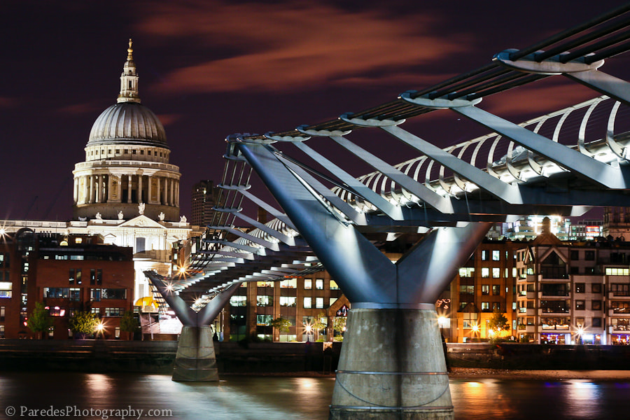 Photograph St Pauls At Night by Peter Paredes on 500px