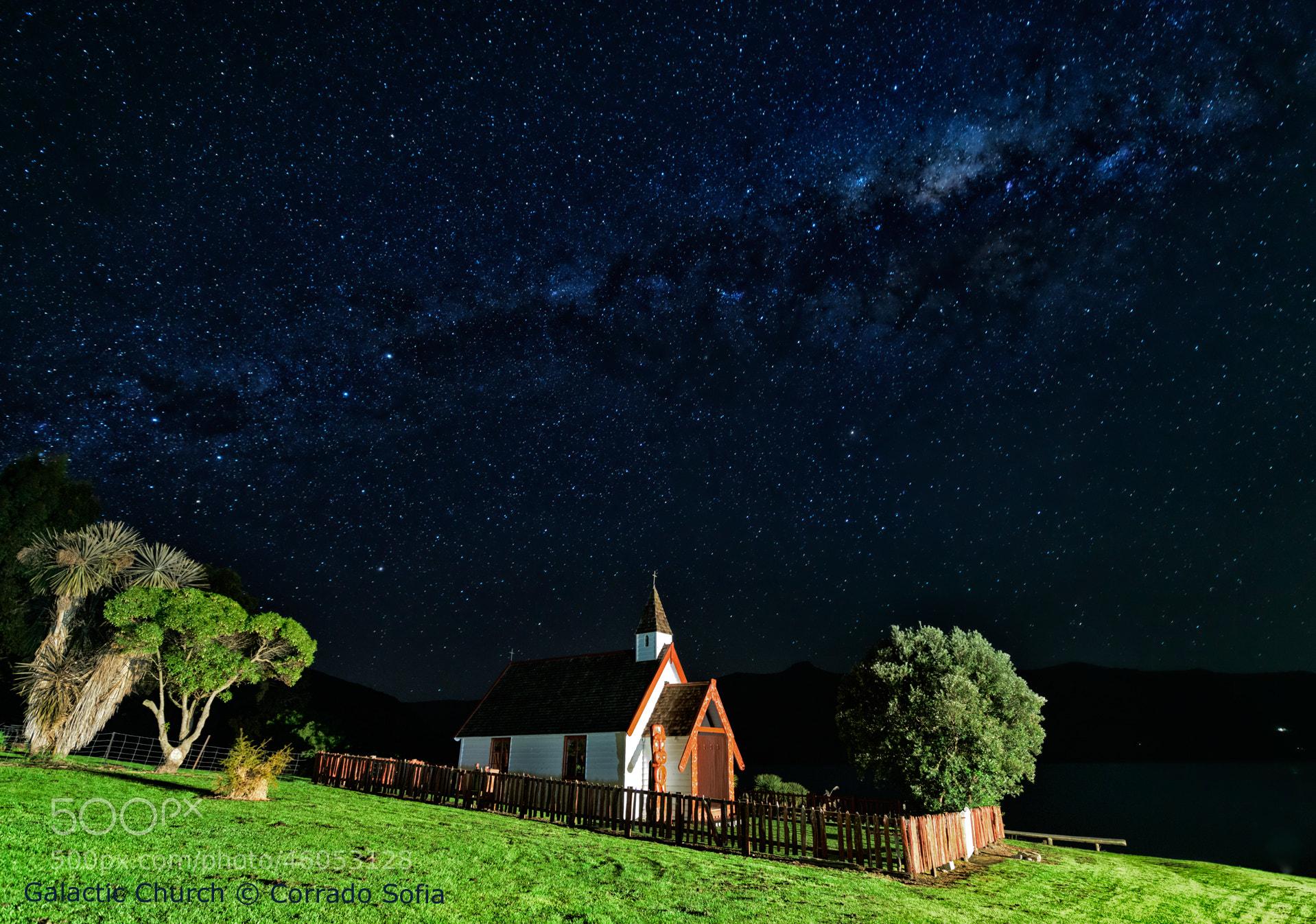 Photograph Galactic Church by Corrado Sofia on 500px