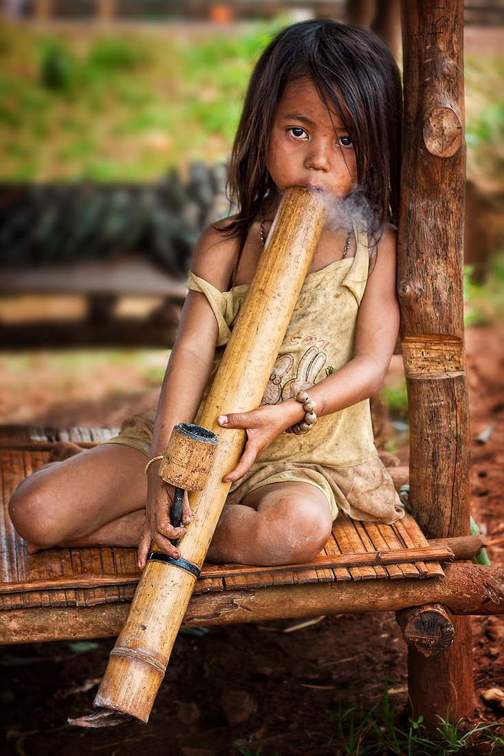 """Photograph smoking """"bong child"""" by Andreas Zopf on 500px"""