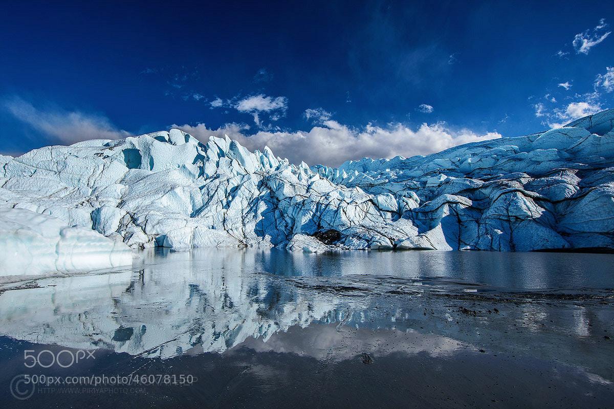 Photograph Glacier lake by Pete Wongkongkathep on 500px